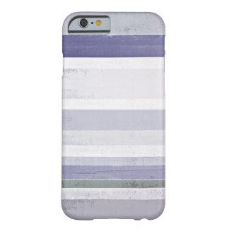 「ブドウ」の紫色および灰色の抽象美術 iPhone 6 ベアリーゼアケース