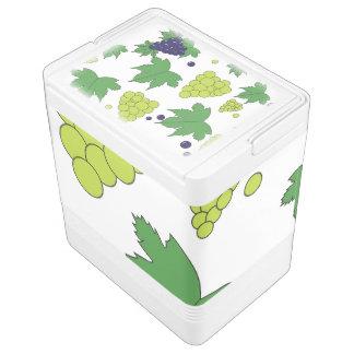 ブドウ-紫色および緑 クールボックス