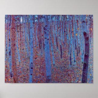 ブナの森林 ポスター
