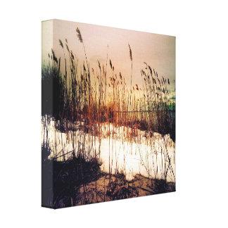 ブナの雑草の写真撮影のキャンバスのプリント キャンバスプリント