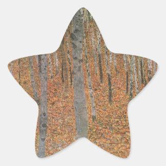 ブナ果樹園のカッコいい 星シール