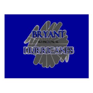 ブライアントの高等学校のハリケーン- IrvingtonのAL ポストカード