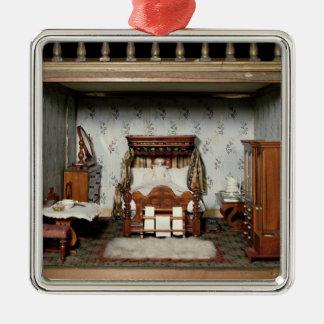 「ブライアントPleasure夫人」のの寝室、c.1860 メタルオーナメント