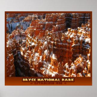 ブライスの国立公園 ポスター