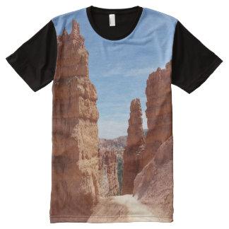 ブライス渓谷の国立公園のTシャツ オールオーバープリントT シャツ