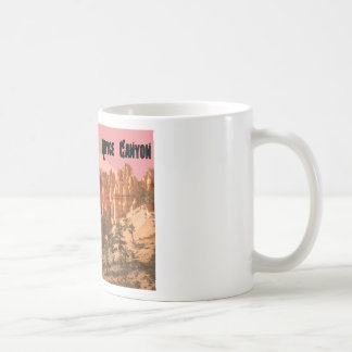 ブライス渓谷の国立公園、ユタ コーヒーマグカップ