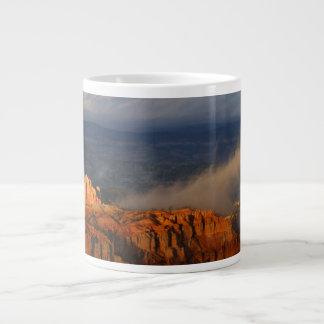 ブライス渓谷の嵐 ジャンボコーヒーマグカップ