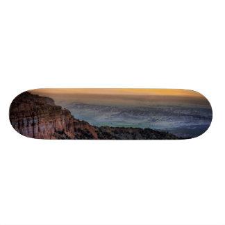 ブライス渓谷の日の出 スケートボードデッキ