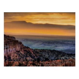 ブライス渓谷の日の出 ポストカード