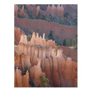 ブライス渓谷のHoodooの眺め ポストカード