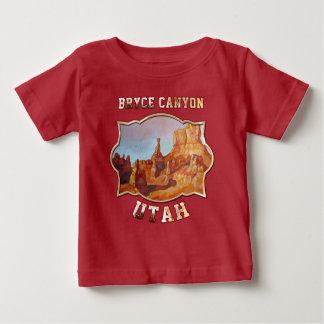 ブライス渓谷-ユタ(米国) ベビーTシャツ