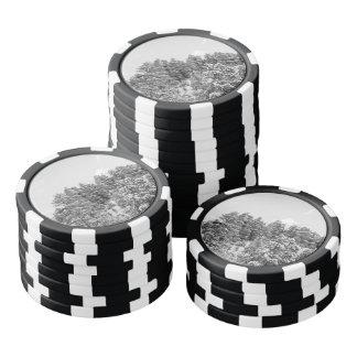ブライス白黒渓谷 ポーカーチップ