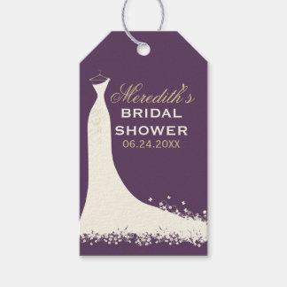 ブライダルシャワーのメッセージカード|の婚礼衣裳 ギフトタグ