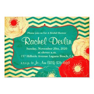 ブライダルシャワーの招待状 カード