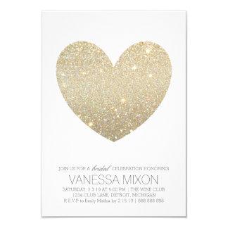 ブライダルシャワーの招待|のハートのすてきな花嫁 8.9 X 12.7 インビテーションカード