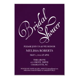 ブライダルシャワーの招待|の原稿 カード