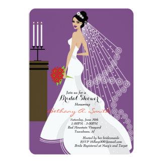 ブライダルシャワーの招待 カード
