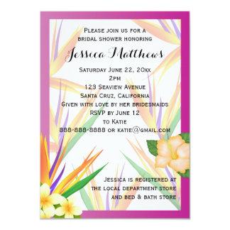 ブライダルシャワーの結婚プラム極楽鳥 カード