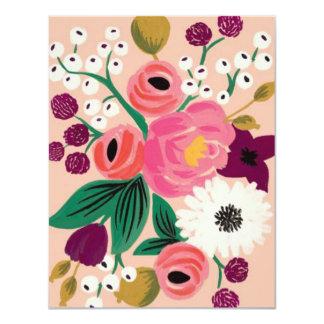 ブライダルシャワーの花 カード