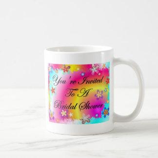 ブライダルシャワーへの招待されました コーヒーマグカップ
