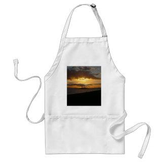 ブライトンのビーチの日没 スタンダードエプロン