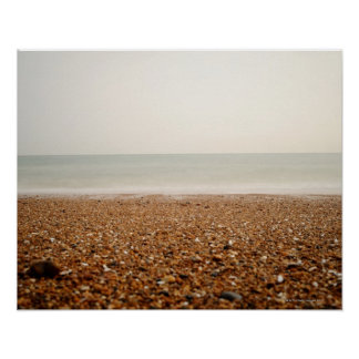 ブライトンのビーチ2の海 ポスター