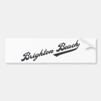 ブライトンのビーチ バンパーステッカー