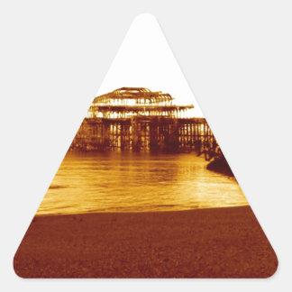 ブライトンの西桟橋(07) 三角形シール