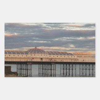 ブライトン宮殿桟橋 長方形シール