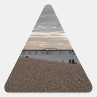 ブライトン桟橋 三角形シール
