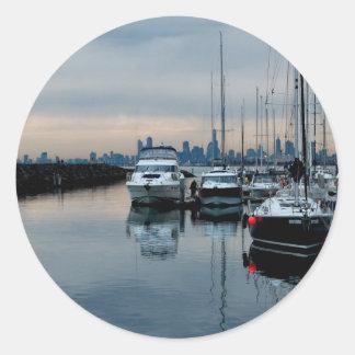 ブライトン港で想像して下さい ラウンドシール