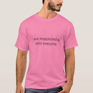 ブラインド皆 Tシャツ