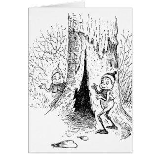 ブラウニーおよび空木 カード