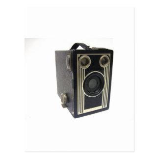 ブラウニーのアンティークのカメラ ポストカード