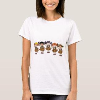 ブラウニーのグループ Tシャツ