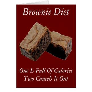 ブラウニーのダイエット カード