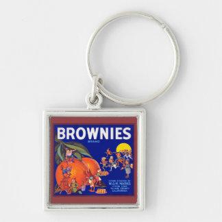ブラウニーのブランドカリフォルニアオレンジ キーホルダー