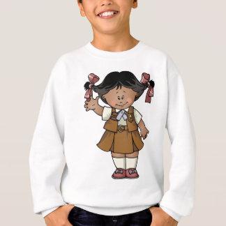 ブラウニーの暗闇の皮 スウェットシャツ