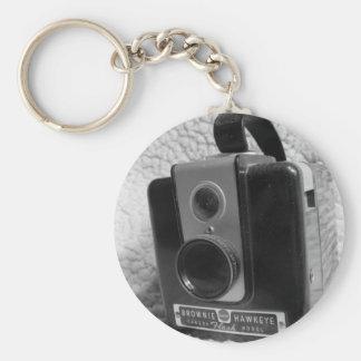 ブラウニーのHawkeyeの古いカメラ キーホルダー
