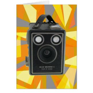 ブラウニーCのヴィンテージのカメラ カード