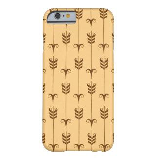 ブラウンおよびタンの装飾的な矢パターン BARELY THERE iPhone 6 ケース