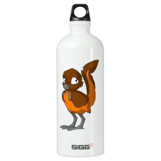 ブラウンかオレンジReptilianの鳥 ウォーターボトル