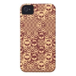 ブラウンこうもりの記号パターン Case-Mate iPhone 4 ケース