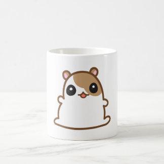 ブラウンのかわいいハムスター コーヒーマグカップ