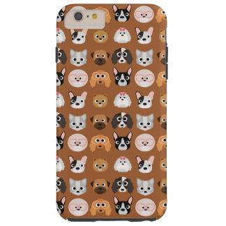 ブラウンのかわいい犬 TOUGH iPhone 6 PLUS ケース