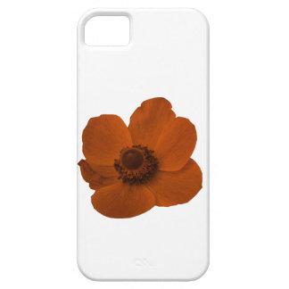 ブラウンのアネモネのiPhone 5の場合 iPhone SE/5/5s ケース