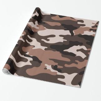 ブラウンのカムフラージュ|の包装紙 ラッピングペーパー