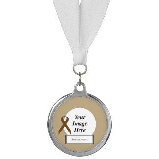 ブラウンのケネスYoncich著標準的なリボンのテンプレート メダル