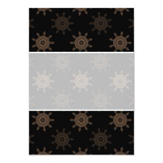 ブラウンのコグ。 フラクタルはパターンを一周します カード