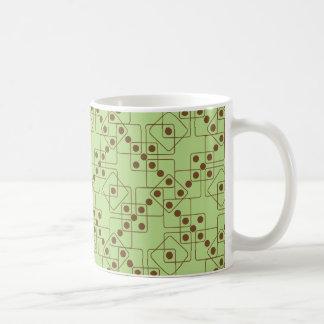 ブラウンのサイコロ コーヒーマグカップ